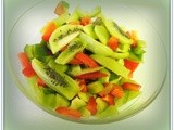 Red and Green Kiwi Salad