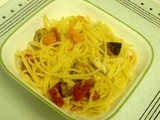 Roasted Veggies with Pasta