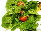 Spinach Salad with Vinaigrette - Power Foods
