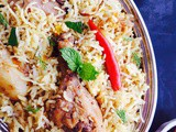 Dhaka Style Kacchi Chicken Biryani Recipe / a Distinct Type Of Chicken Biryani From Dhaka, Bangladesh