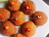 Posto Narkel Bora Recipe | Khus Khus Aur Nariyal Ke Vade Recipe | Poppy Seeds, Coconut Fritters Recipe