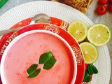 Thai Beetroot Coconut Soup Recipe ~ Pink For October Series