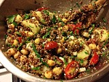 Forcing the Season: Quinoa and Vegetable Salad