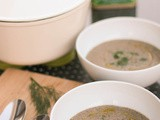 Cream of mushroom soup – vegan & gf