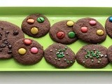 Eggless Chocolate Cookies by Little chef
