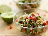 Quick & Healthy Moong dal sprouts salad