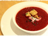 Soup night: Beetroot Soup