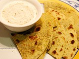 The humble plain paratha