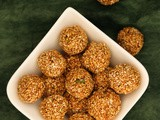 Til ke Laddu | Indian sweet Sesame ball