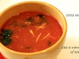 Tomato Curry Leaves Soup