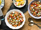 Vegan Roasted Chickpea Quinoa Bowl