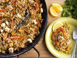 Vegetarian Paella -absolutely the best