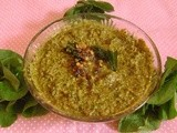Brahmi Chutney - Version 2