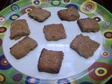 Eggless Chocolate Biscuit