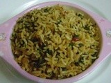 Palak Chitranna or Spinach Rice