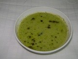 Sihi Kumbalakayi Thirulu Raita/Inner part of sweet pumpkin raita