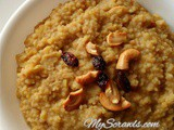Foxtail Millet Maple Sugar Pongal