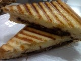 How to Make Cheese Chocolate Sandwich