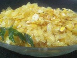 How to make Gujarati Papad Poha