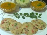 How to Make Semolina and Vermicelli Idli with Tomato Chutney