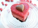 Be My Valentine – Marianne Cake with Chocolate, Peppermint candies and Strawberries