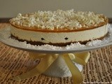 White Chocolate and Gingerbread Cheesecake – White Christmas Theme