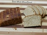 Basic Whole Wheat Bread | Brown Bread