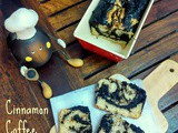 Cinnamon Coffee Marble Cake