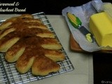 Cornmeal-Wholewheat Bread | Cornstalk-shaped Maize and Wholwheat Bread