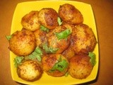 Lilliput potatoes pan-fried
