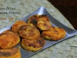 Pan-fried Sweet Potato | Kananga Phodi | Konkani Dish