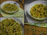 Sprouted Moong and Coconut Rice