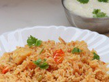 Vegetable biryani in pressure cooker recipe-How to make vegetable biryani in pressure cooker recipe