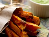 Roasted Sweet Potatоes with Fresh Green Pesto
