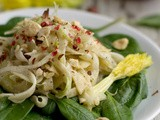 Shaved Fennel and Celery Raw Salad