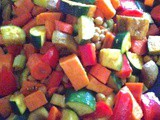 Roasted Curry Vegetable Medley