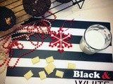 Black & White Coconut Cookies