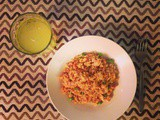 Healthy Salmon Egg Fried Rice
