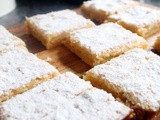 Lemon Bars and oh how i miss baking