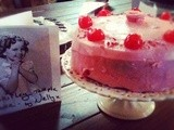 Shirley Temple Cake