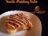 Vanila Pudding Filled Chocolate Cake