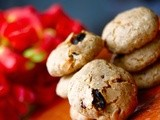 Whole Wheat Fruit and Nut Cookies