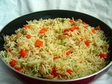 Vegetable Pulav (for beginners)