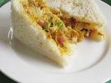 Chicken Masala Sandwich Recipe