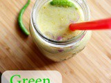 Green Chutney Buttermilk - Summer Weight Loss Diet Drink