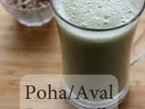 Poha Buttermilk - Weight Loss Diet Drink