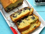 Blueberry Yogurt Pound Cake