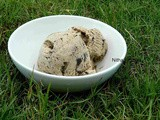 Cookies and Coffee Ice Cream From Scratch