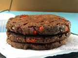 Homemade Black Bean Patties | Black Bean Veggie Burgers | How to soak and cook Black Beans