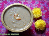 Arisi thengai payasam/rice coconut kheer